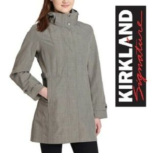 Kirkland Signature Ladies Water Resistant Trench